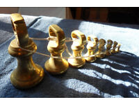 Brass Bell Weight - Complete Set - of 8 - from 7 lb to 1 oz - Butchers