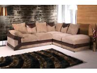BRAND NEW DINO JUMBO CORD 3 And 2 seaters sofa
