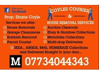 Coyles Courier & House Removal Services ( Rubbish Removal Garage Clearance Garden man with van )