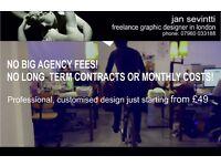 Freelance GRAPHIC DESIGNER I LOGO DESIGN I WEB DESIGN I MARKETING SOLUTIONS (CUSTOM MADE)