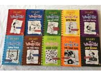 Diary of a Wimpy Kid 10 Books Collection