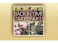 Do you and your family want to go Back in Time for a new BBC series?