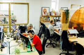 Desks and Studios available in unique co-working space in Stoke Newington