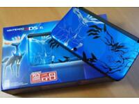 Nintendo 3ds xl Pokemon x limited edition + Games