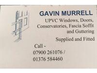 GAVIN MURRELL WINDOWS, DOORS, CONSERVATORIES, FASCIA, SOFFIT, GUTTERING, AND MORE..