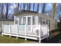 Sunningdale Special Static Caravan 2012 with central heating and sundeck. REDUCED PRICE!!