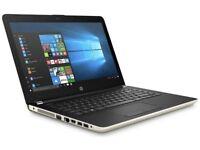 "HP 14-BS043NA 14"" Intel Celeron 4GB RAM 500GB HDD Laptop - Silver"