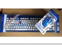 Rock candy keyboard and mouse