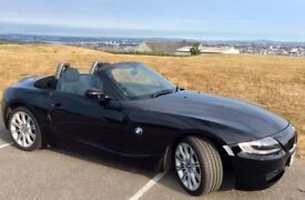 Beautiful 2 door, low mileage, black Z4 soft top for sale
