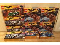 Various brand new and sealed Lego Batman Movie sets. From £15. Or take everything for £170