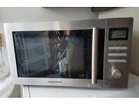 Morphs Richards microwave convection oven and grill