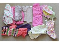 Baby Girl bundle clothes 2-3 years 20 items tops trousers shorts dress