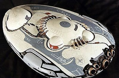 Jupiter-2 Jedi Vessel Lost in Space Spacecraft Mahogany Dried Wood Model Small