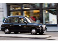 Black Taxi Street Car Driver Required