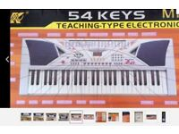 54 Keys LCD Teaching Type Electronic Keyboard MK2054 (Cash on Collection Only)
