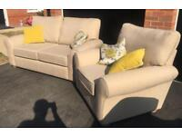 Brand new M&S sofa and matching chair