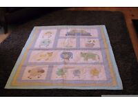 Used, Cot Quilt suitable for boy or girl for sale  County Down
