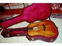 Taylor K20-e rare guitar