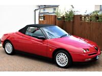 Alfa Romeo GTV Twin Spark Spider MK1, Rosso Red, 21000 Miles, Stunning Car, Best MK1 in the UK