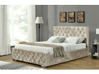 ⚡️⚡️CASH ON COLLECTION⚡️⚡️DOUBLE CHESTERFIELD BED WITH MATTRESS - AVAILABLE IN ALL COLORS