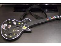 Playstation Guitar Hero Les Paul Gibson Guitar - (No dongle) PS2 - PS3