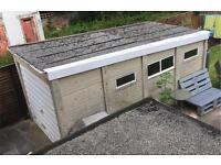 External Concrete Garage FREE!!
