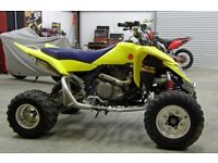 SUZUKI LTR 450 BREAKING ALL PARTS ** 07835260254 ** ROAD LEGAL FRAME AND LOG BOOK