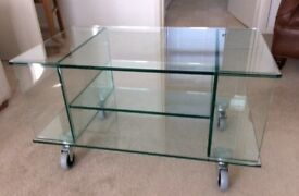 JOHN LEWIS TV STAND/COFFEE TABLE