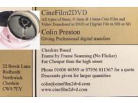 Film and Video transfer to DVD or Digital File