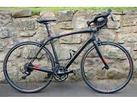 2016 TREK DOMANE 4.5 OCLV CARBON ROAD RACING BIKE. ISOSPEED COMFORT. EXCELLENT CONDITION. WAS £1850.