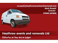 Reliable man and a van ( We deliver on time and on budget) 07540221905