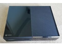 Xbox one console and games