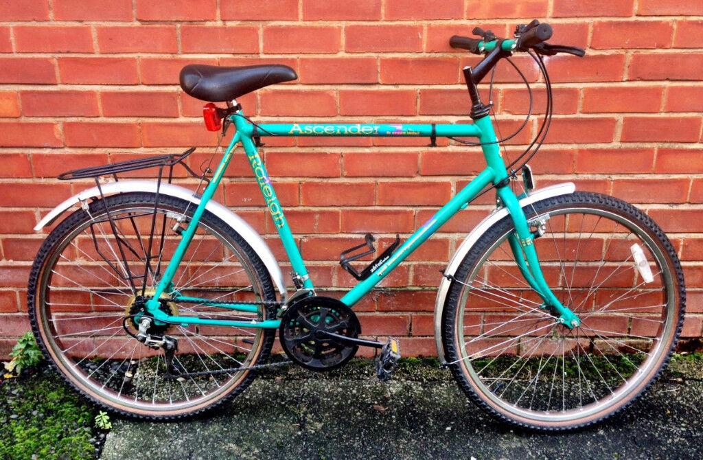 Vintage Retro Raleigh Ascender Mountain Bike