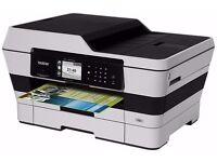 BROTHER WIFI A3 INKJET PRINTER/SCANNER/COPIER/FAX GREAT CONDITION AS NEW WITH SPARE INK CARTRIDGES
