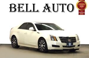 2011 Cadillac CTS 3.0L SUNROOF LEATHER LOW KMS!