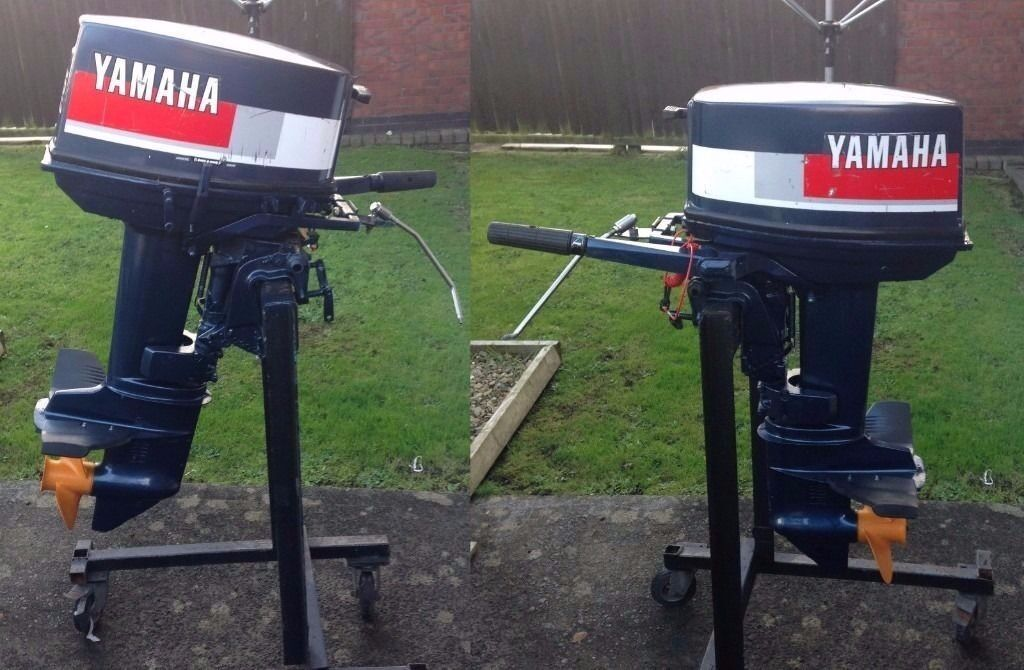 Yamaha 25hp 2 stroke outboard engine motor in llanelli for 25hp yamaha 2 stroke
