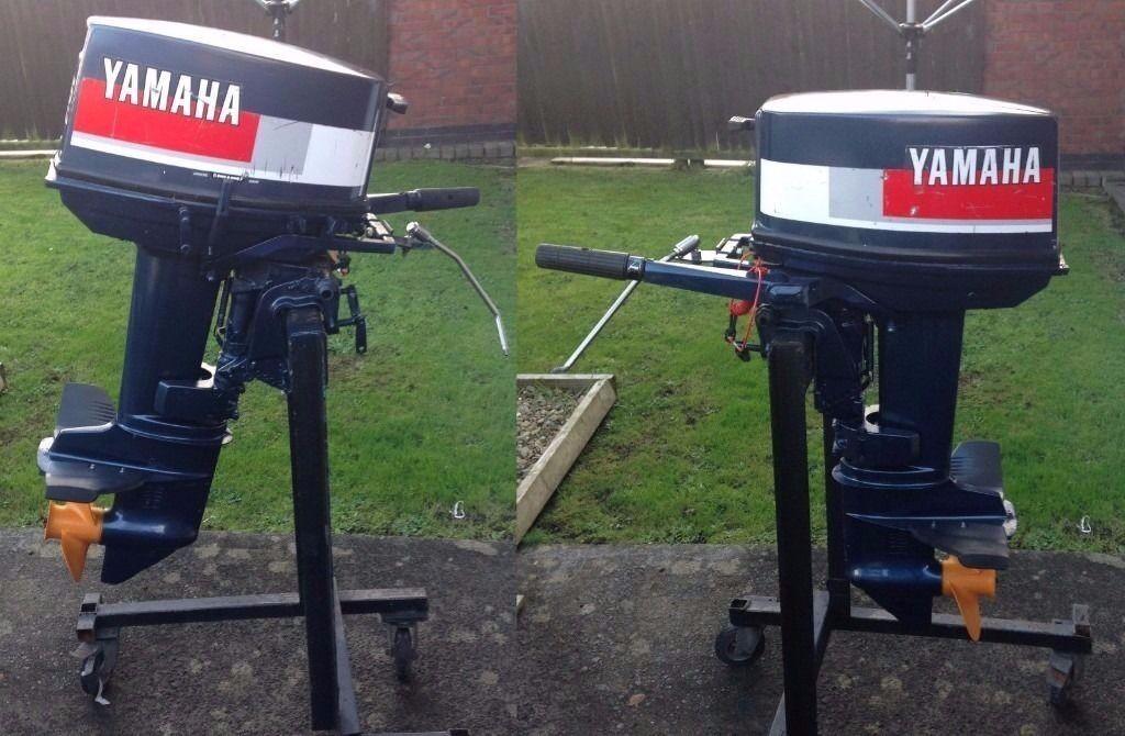 Yamaha 25hp 2 stroke outboard engine motor in llanelli for 2 stroke boat motors