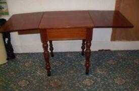 Solid Wood Drop Leaf Table ID 24/8/17