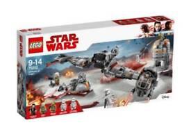 Lego star wars defence on crait