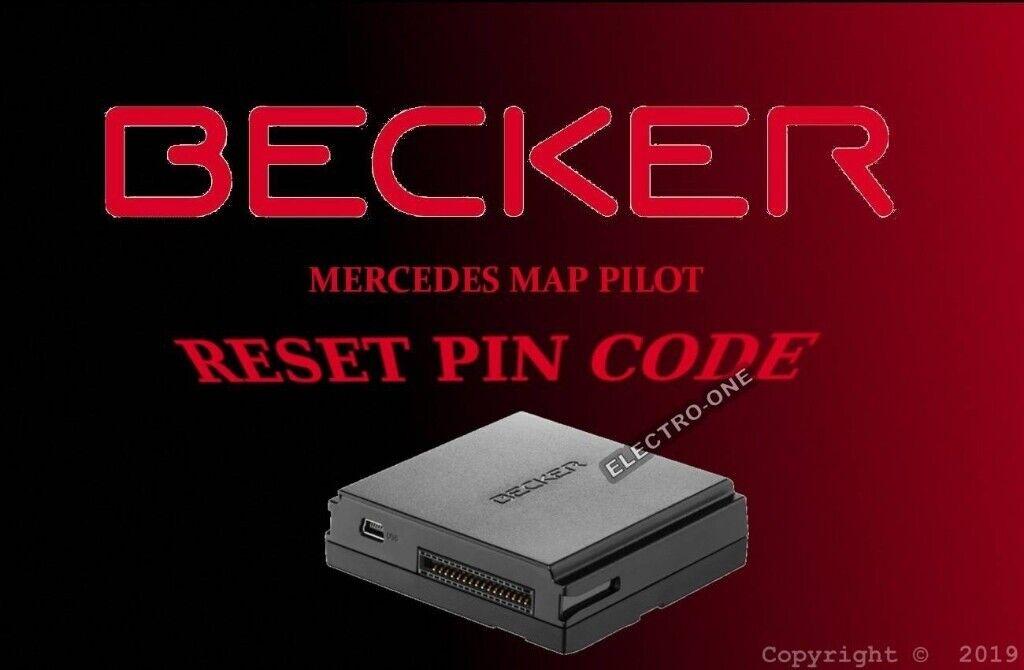 mercedes-benz becker navigation map pilot Unlock Security Pin Code Service  | in Northolt, London | Gumtree