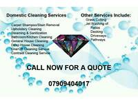 Domestic and Commercial cleaning services / End off Tenancy / one off Clean