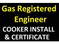 Gas Safe Engineer Plumber - Gas Cooker installation- Corgi - Birmingham fitter fire disconnect fit