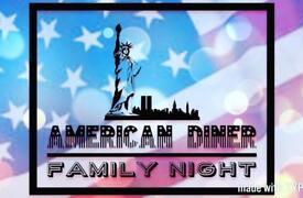 American diner family night @ viney's in botley
