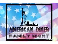 American diner family night @ viney's in botley