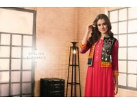 RANGOON VINTAGE BY TAAPSEE PANNU WHOLESALE RAYON KOTI WITH WESTERN GOWN COLLECTION