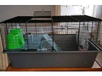 Large hamster cage and ball