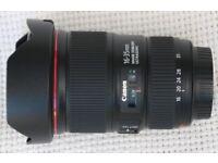 CANON EF 16-35mm F/4 L SERIES IS USM LENS