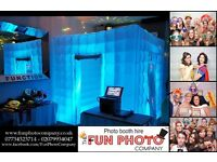 PHOTO BOOTH HIRE from just £150