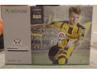 Xbox one S console brand new and sealed with Fifa 17