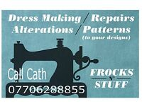 FROCKSTUFF! CREATIVE PATTERNCUTTER,DRESSMAKER, WOMENS TAILOR,SEAMSTRESS,ALTERATIONS & DESIGNS.